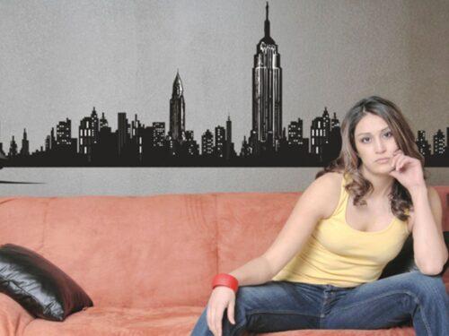 DEKORATIVNA STENSKA NALEPKA NEW YORK I