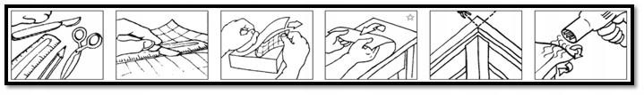 Samolepilna folija navodilo za nameščanje